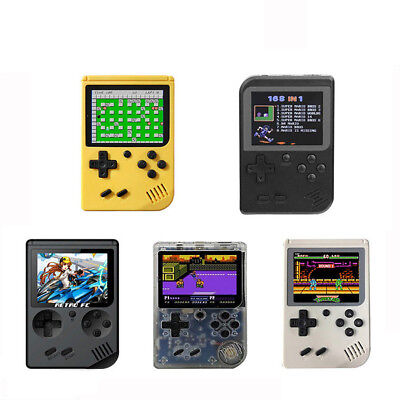 """Updated Retro FC Handheld Game Player 3"""" Portable Game Console 168 Games 8 Bit"""