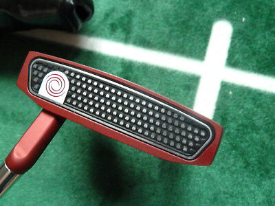 roter Odyssey O-Works Red #7s Putter, 34 Inch, Rechtshänder + Headcover
