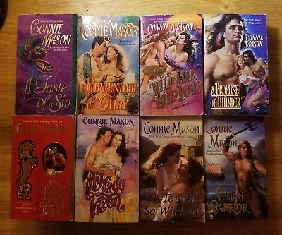Lot Of 31 Connie Mason Historical Romance Books Novels Rogue