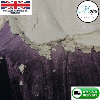 Cosmetic Mica Powder  Pigment Soap Interference White-Purple Eyeshadow Nail Art