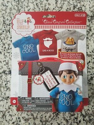 85b485245 Elf on the Shelf Graphic Tee Multipack SnoCool 3 elf-sized t-shirts and