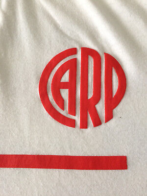 Official Original vintage style CLUB ATLETICO RIVER PLATE FOOTBALL SHIRT size L