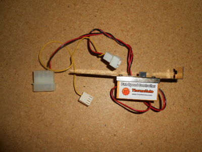 Thermaltake CPU Or Case Fan Variable Speed Controller With Molex Connector