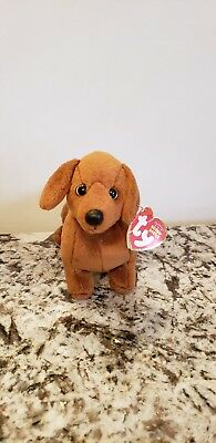 Ty Beanie Baby ~ FRANK the Dachshund with tags.