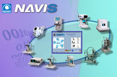 Nidek Magellan Mapper Topographer Navis Software