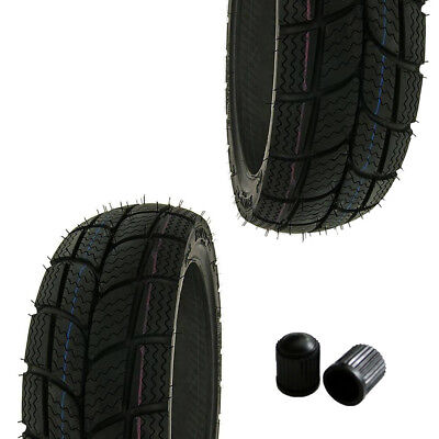 Reifen Set KENDA K701 Winterreifen M+S 120/70-12 130/70-12 Peugeot Speedfight 1