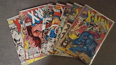 Marvel X-Men 2nd Series lot 1991 Issues 1-10