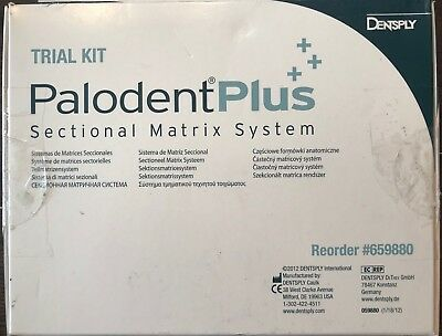 Dentsply Palodent Plus Sectional Matrix System Introduction Trial Kit #659880