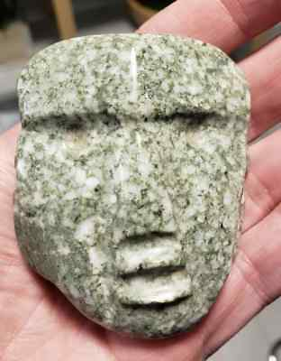 Rare and FINE MEZCALA Maskette, Precolumbian, Mayan Olmec MAKE AN OFFER