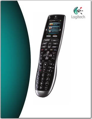 Logitech Harmony 900 Rechargeable Remote with Color Touch Screen- 915-00