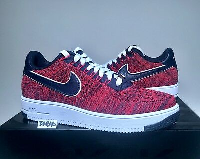 4c7a58de1c Nike Air Force 1 Ultra Low Flyknit RKK New England Patriots Robert Kraft  Red Blu