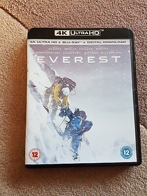 Everest 4K UltraHD bluray