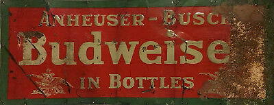 "TIN SIGN ""Bud B Rust"" Beer Mancave Wall Decor Alcohol IPA Vintage Kitchen Gift"