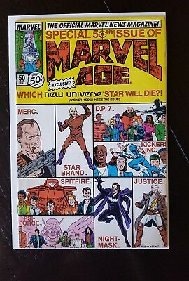 Marvel Age Special 50th Issue vol.1 # 50 ( May 1987 ), 9.2 NM Combined Shipping