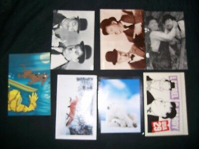 Lot of 31 Various Postcards, Scenery, TV, Some vintage