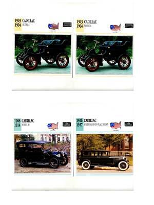 Classic Cars Collector Cards - Vintage Cadillac - Set Of 26 Cards