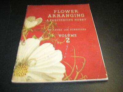 Flower Arranging A Fascinating Hobby Vol 2 The Coca-Cola Co Book Burroughs 1941