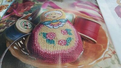 Handmade Russian Doll Stamped Cross Stitch Embroidery Kits 11 Count 36x47cm
