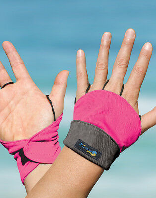 Palmless Gloves UPF50+ HOT PINK Sun Protection