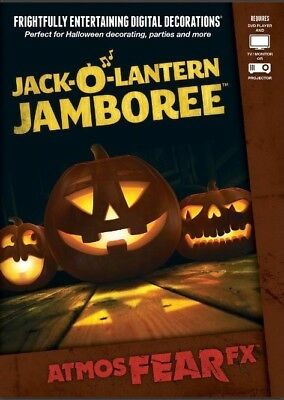 AtmosFX Jack-O'-Lantern Jamboree Digital Decorations