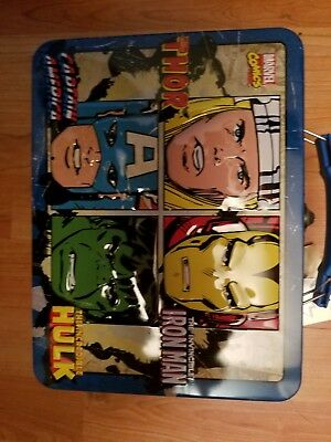 Marvel Legends Tin Lunch Box