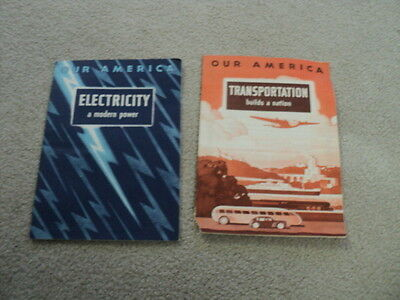 Vintage Two Coca-Cola Educational Booklets 1942 and 1943