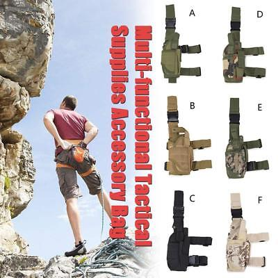 20L Men's Tactical Outdoor Camping Thigh Drop Leg Bag Motorcycle Riding Belt