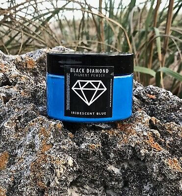 BLACK DIAMOND 42g/1.5oz Mica Powder Pigment - Iridescent Blue