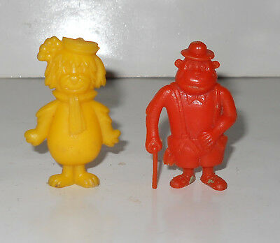 2 Mini Figures Hanna Barbera Lot Premirum - From Argentina Very Rare