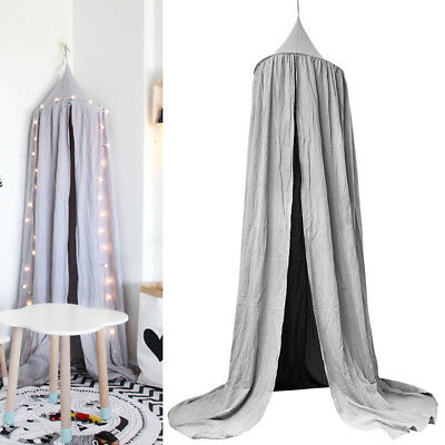 Childrens Bedcover Canopy Mosquito Net Cotton Curtain Bedding Dome Home Decor