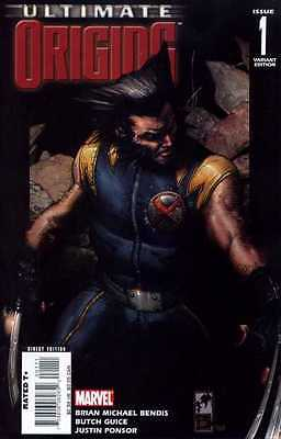Ultimate Origins # 1 Part 1 / Variant Cover / Very Good Condition 2008 Marvel