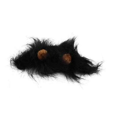 daggety Pet Costume Lions Hair Mane Ears Wig for Cat Halloween Christmas Part...