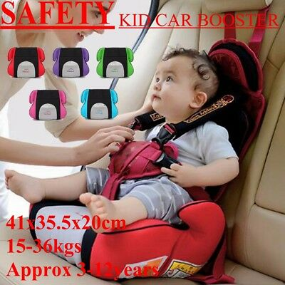 Safety Sturdy Car Booster Seat Chair Heightening Pad For Baby Children Toddler