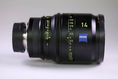 "Carl Zeiss Digiprime 14mm T1.6 Lens B4 Mount Digital Cine 2/3"" Cameras"