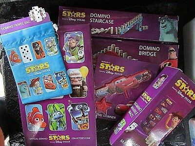 Woolworths Disney Pixar Stars Domino Collectors Case PLUS more