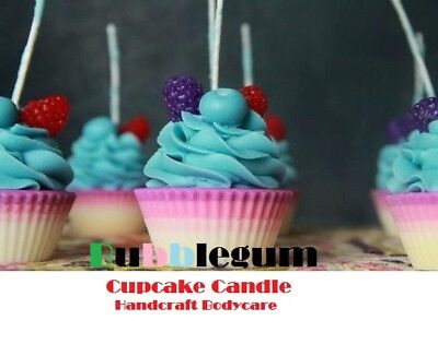 Premium Cupcake SOY Candles - Calorie Free, Gluten Free, Guilt Free-BEAUTIFUL!!!