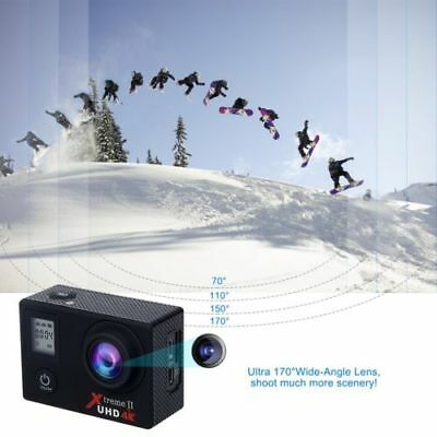 B-WARE: Action Kamera Sport Action Cam WIFI 16MP Ultra HD  170° Drehung 32GB SD