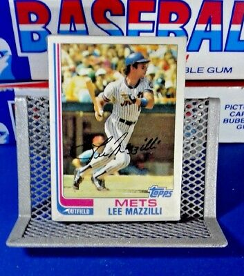 Unopened Topps Baseball Cards 1981 Cello Pack - Lee Mazzilli - Free Shipping