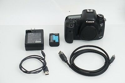 Canon EOS 5D Mark III 22.3MP Digital SLR Camera (Body Only) Shutter Count 65,015
