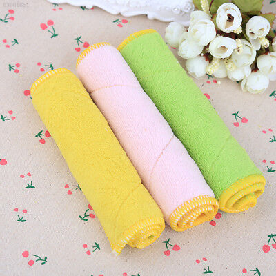 8E6A Kitchen Towel Soft Absorbent Fiber Dishcloth Cleaning Cloth Washing Dish To
