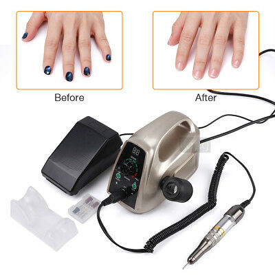 Strong 65W Nail Drill Machine Manicure Pedicure Electric File Bits Nail Art Tool