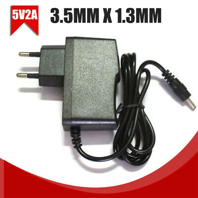 5V 2A AC/DC Adapter Power Supply 3.5mm x 1.3mm Adapter Tablet Charger EU Plug