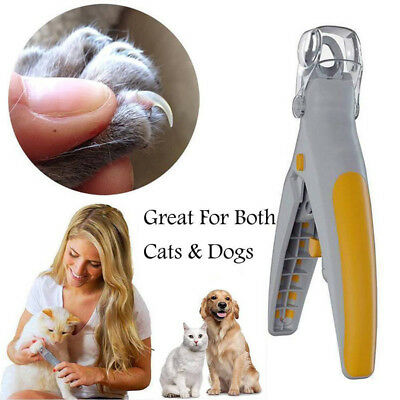 Pet Nail Trimmer Pets Care Dog Nail Clippers Grinders for Cat Dog With LED light