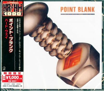 POINT BLANK-THE HARD WAY-JAPAN CD Ltd/Ed B63