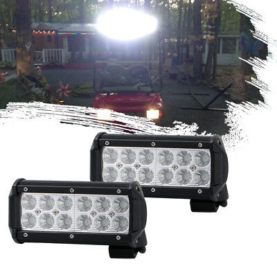 7INCH 36W LED Work Light Bar Spot Pods Driving Off-Road Light For Tractor Kubota