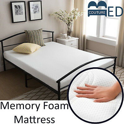 4FT Small Double Memory Foam Mattress with Washable Cool Touch Cover Visco