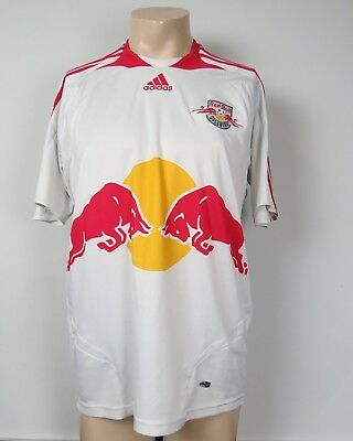 Red Bull Salzburg 2007-08 home shirt adidas soccer jersey size M