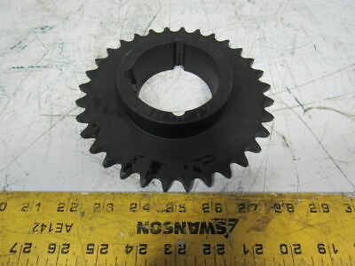 Tsubaki H50BTL32 #50 Single Strand Roller Chain Sprocket 32T Taperlock Bore