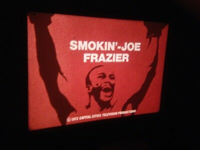 Joe Frazier Story 16mm Sound Colour Film 1970's