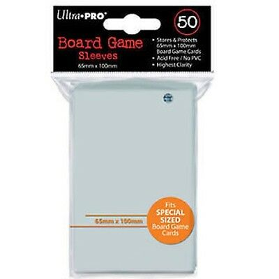 ultra pro Board Game Sleeves: 65x100mm x 12 packs